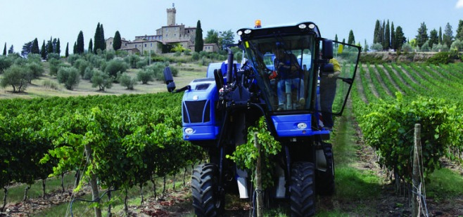 Castello Banfi e New Holland Agriculture #Expo2015 - By Agronotizie